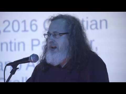 CryptoPartyLDN Talk: Richard Stallman on Free Software, Freedom & Privacy