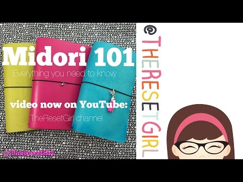 Midori 101:The Ultimate How-to for the Midori Traveler's Notebook feat. FoxyDori and JenDori