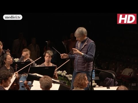 Michael Tilson Thomas and the VFO - Special event: Rehearsal (Mahler): Verbier Festival 2016
