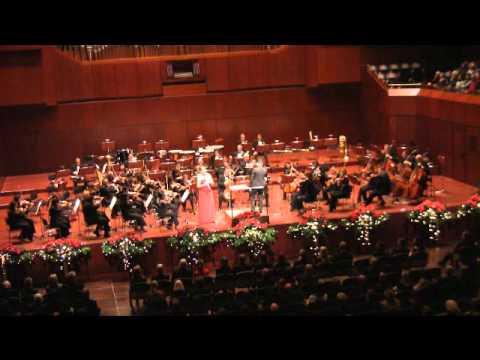 Weber Clarinet Concerto No.1, III. Rondo. Allegro - Sabine Grofmeier, clarinet