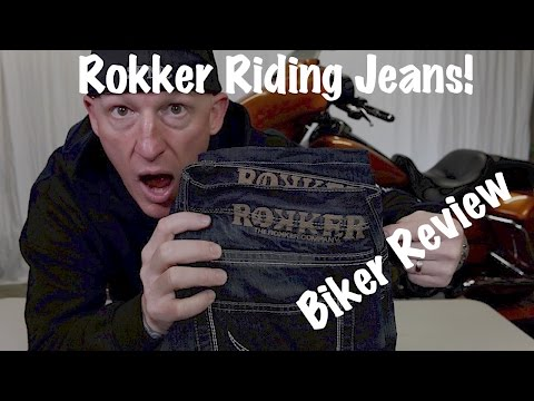 Rokker Red Selvage Motorcycle Protective Riding Jeans-Review & Test