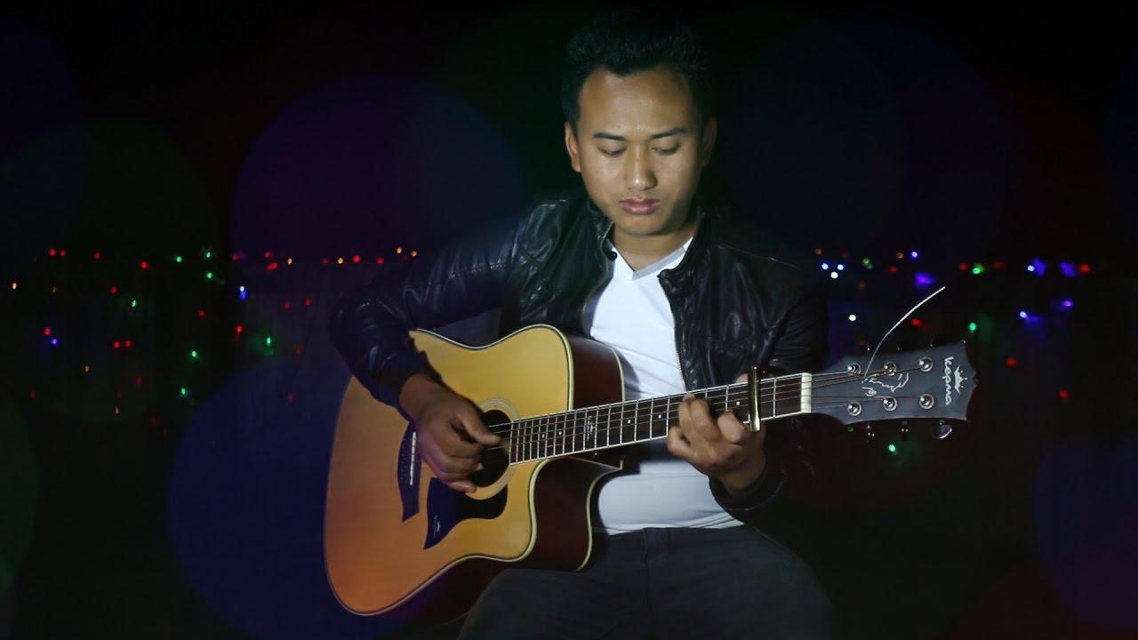 Tihar Song On Guitar By Suman Thapa Magar Deusire 2016 Youtube