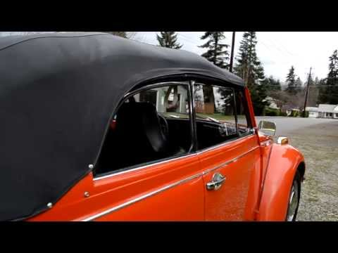 1971 Convertible VW Beetle for sale