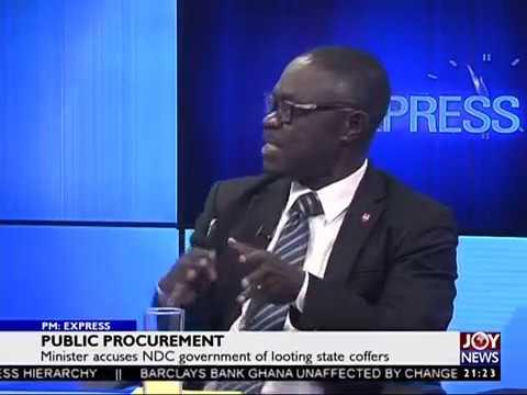 Public Procurement - PM Express on JoyNews (29-5-17)