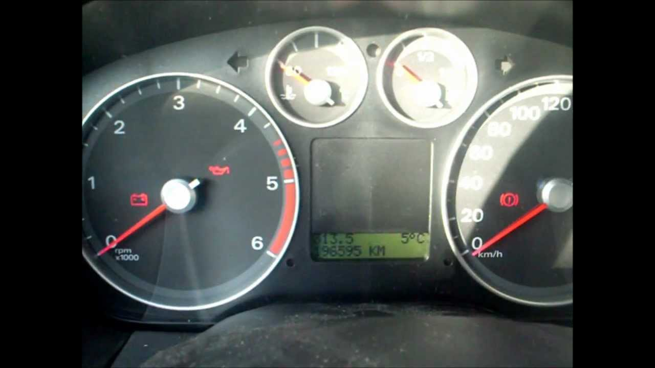 Tacho Pro 2008 Ford Focus 2006 Change Km Youtube