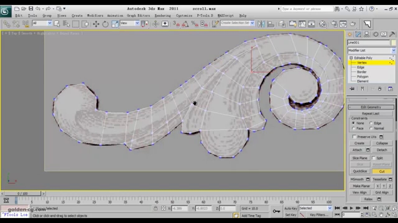 Ornament Modeling 02 In 3ds Max Youtube
