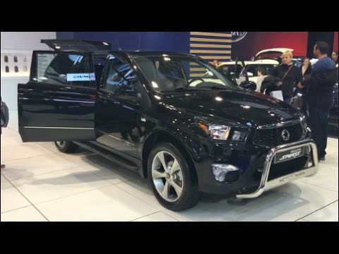 ssangyong actyon sports 2016 in detail review walkaround interior exterior youtube. Black Bedroom Furniture Sets. Home Design Ideas