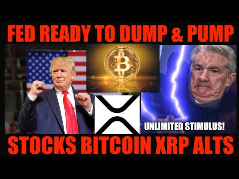 WOW! FED READY TO DUMP & PUMP STOCKS BITCOIN XRP ALTCOINS AHEAD OF ELECTION!