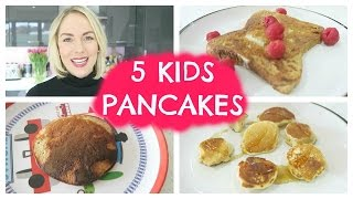 TODDLER BREAKFAST IDEA:  PANCAKES