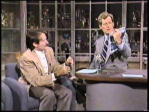 1986 Robin Williams on David Letterman