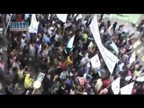 Syrien ( Kubani ) Ayn al-Arab 12.05.2011 : Freiheit für Syrien