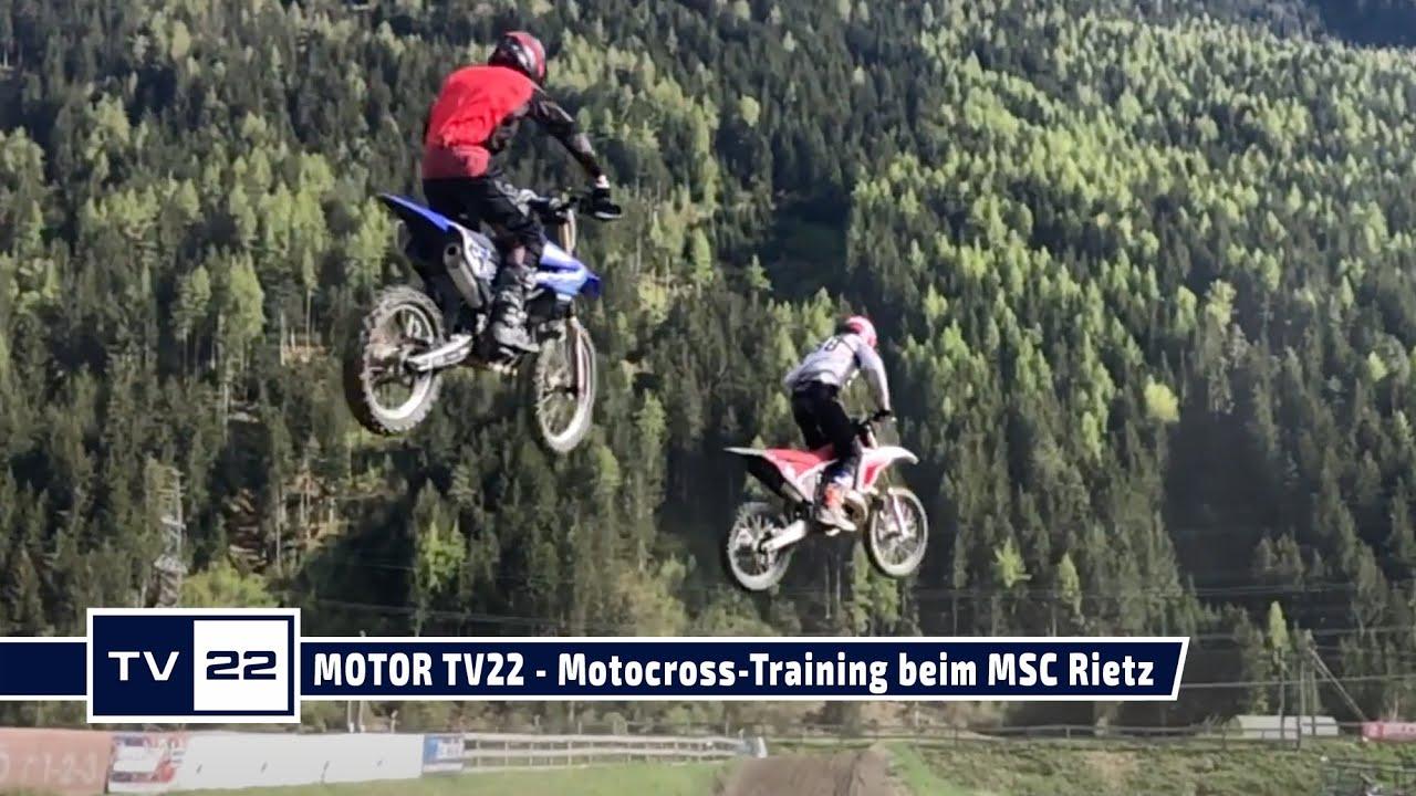 MOTOR TV22: Die besten Sprünge vom Motocross Training beim MSC Rietz