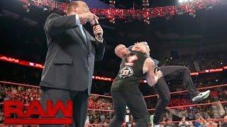 Randy Orton von SmackDown taucht bei Raw auf und attackiert Brock Lesnar: Raw, 1. August 2016