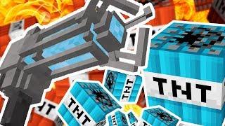 MEGA MODDED TNT WARS DINNER TABLE (NUKE TNT, CHEMICAL TNT, VOLCANO TNT) - MODDED Minigame
