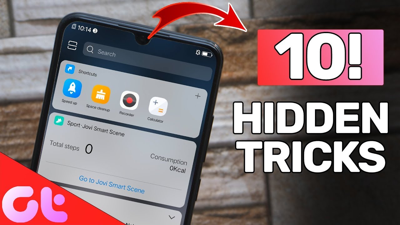Top 10 Vivo V11 Pro Hidden Tips & Tricks Users Must Know | GT Hindi