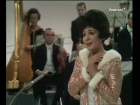 """TERESA STRATAS sings """"UN BEL DI (One Fine Day) from """"Madame Butterfly"""" 1969"""