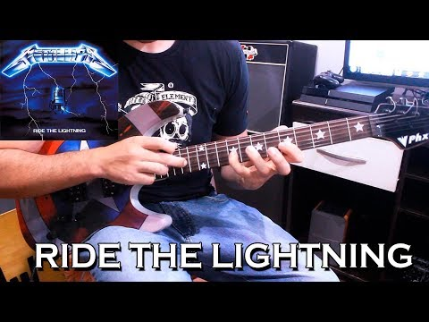 Metallica - Ride the Lightning (Guitar Solo) Cover