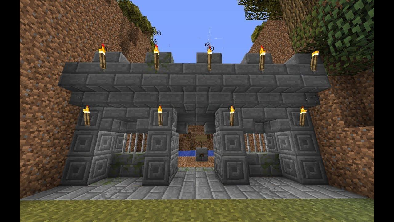 Construction minecraft rempart youtube - Minecraft guide de construction ...