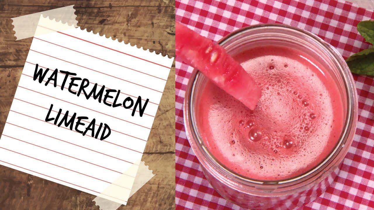 Watermelon Limeaid Drink - Power Juicer