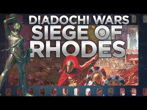 Diadochi Wars: Siege of Rhodes 305-304 BC DOCUMENTARY