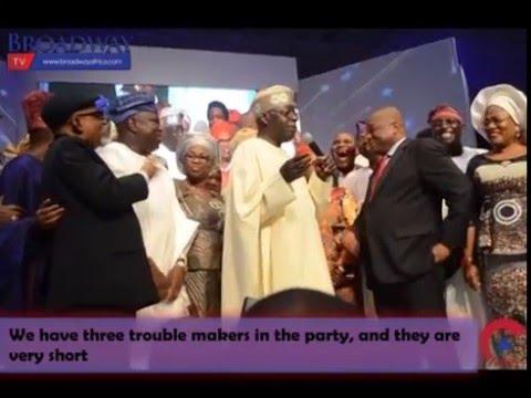Video: Tinubu Dances To 'Eyo', Throws Shade At VP Osinbajo
