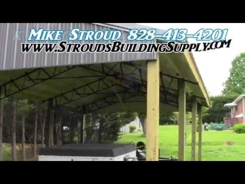 STEEL TRUSSES Carport Kits And Pole Barns ALL AMERICAN