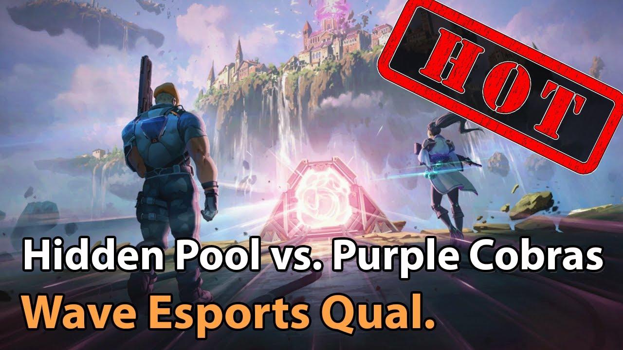 ► Valorant Esports: Purple Cobras vs. Hidden Pool - Wave Esports Qualifier