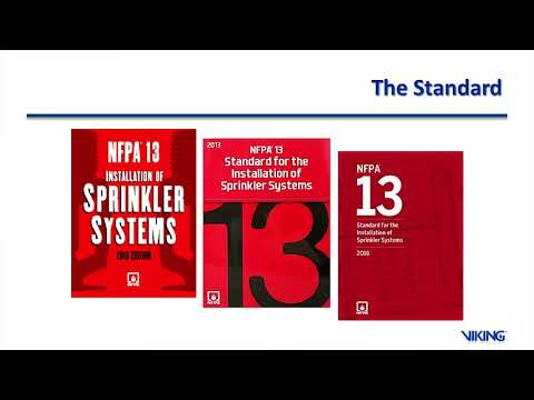 Sprinkler Installation Requirements In NFPA 13