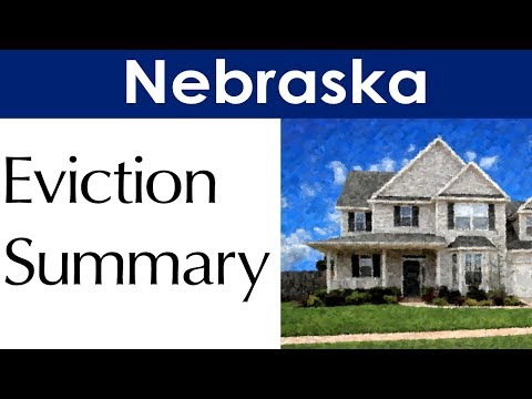 Nebraska Eviction Law for Landlords and Tenants