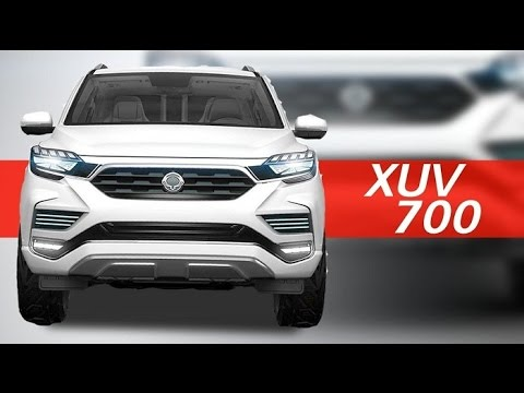 Mahindra Xuv First Look Youtube