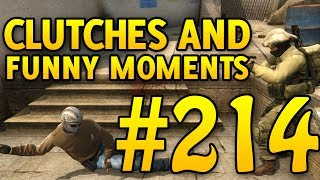 ONE OR THE OTHER! CSGO Funny Moments and Clutches #214 - CAFM CS GO