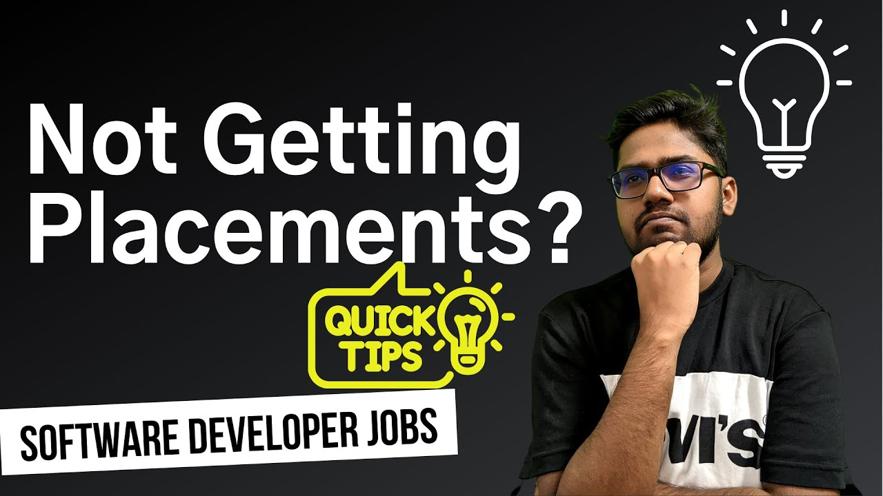 How to get a good Software Developer JOB quickly?