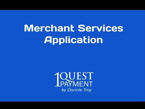 Merchant Application