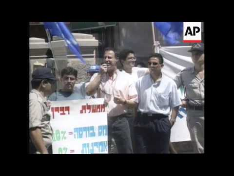 Israel - Tel Aviv's Stock Market Plunge