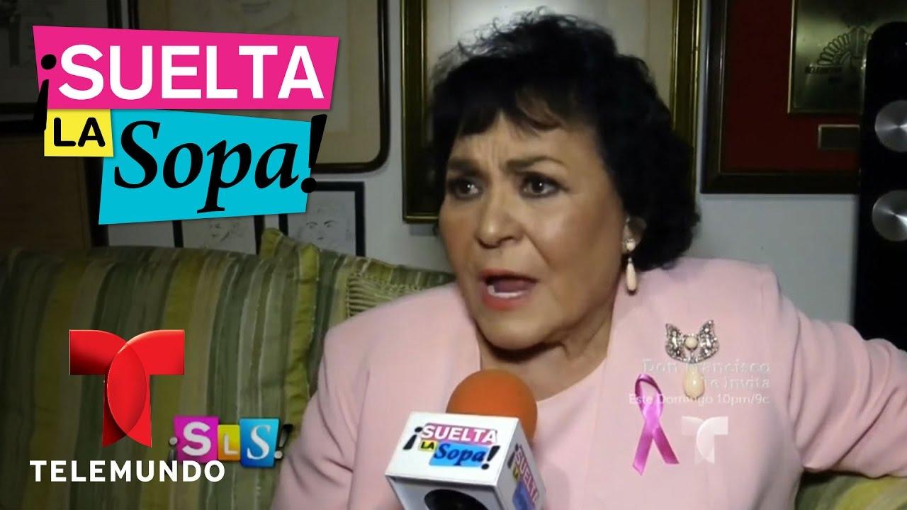 Download Suelta La Sopa | Carmen Salinas opina sobre pleito de Laura Zapata y Niurka Marcos | Entretenimiento