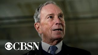 Warren and Sanders aim attacks at Michael Bloomberg