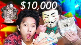 SAVING HACKER GIRL! $10,000 SECRET TREASURE FOUND!!