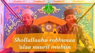 Gambar cover Shollalohu Robbuna Ala Nuril Mubin + Lyric