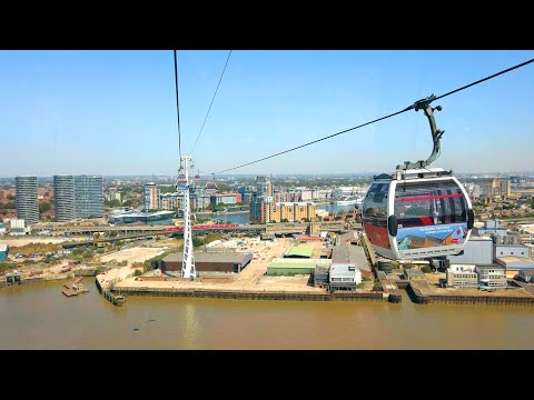EMIRATES CABLE-CAR RIDE & LONDON WALK - Greenwich Peninsula to The Royal Docks