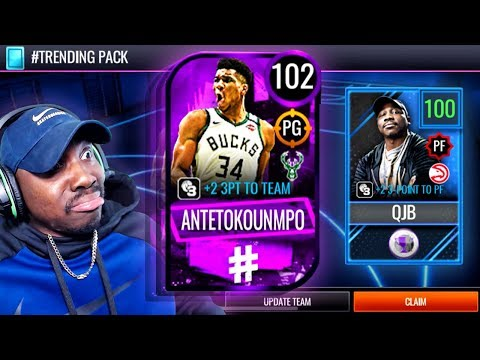 102 OVR POINT GUARD GIANNIS! NBA Live Mobile 20 Season 4 Pack Opening Gameplay Ep. 47