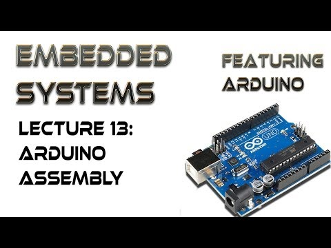 13.  Arduino Assembly Language Commands