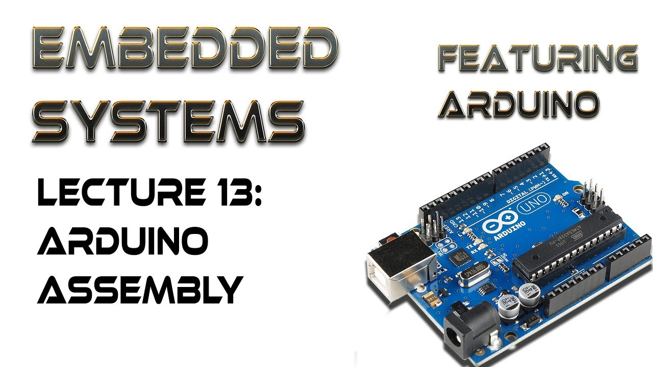13  Arduino Assembly Language Commands