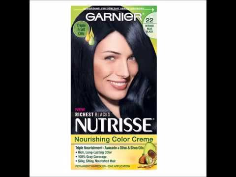 Garnier Nutrisse Permanent Haircolor Intense Blue Black 22 1 Ea You