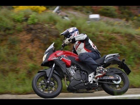 Test-Video | Honda CB500X | Fahreindrücke-Actionaufnahmen