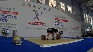 Чингиз Могушков рвет свой вес - 195кг!