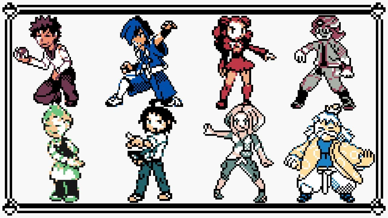 Pokemon Sprite 8 Bit