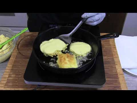 How To Cook Hot Water Cornbread ( Sunday Dinner)