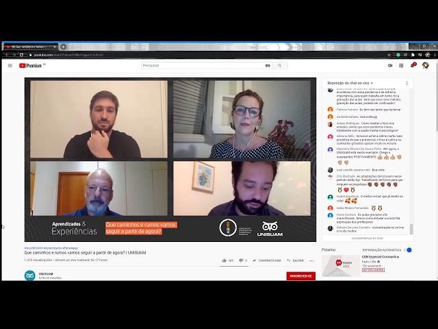 ABMN Webinar  Aprendizados & Experiências - UNISUAM