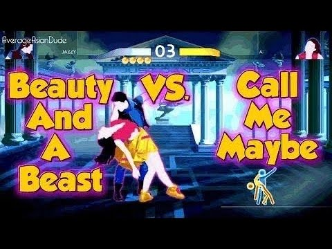 Just Dance 4 - Beauty And The Beat Vs Call Me Maybe 5 Stars