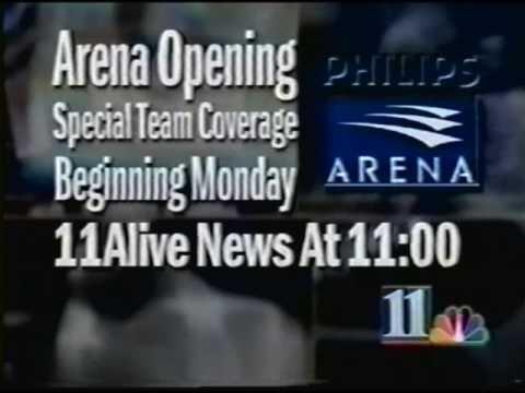 Philips Arena Lighting Ceremony - 1999